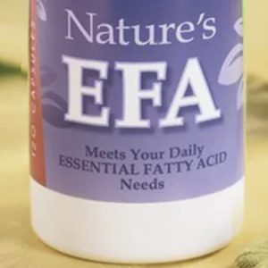 EFA bottle