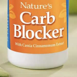 Carb blocker bottle