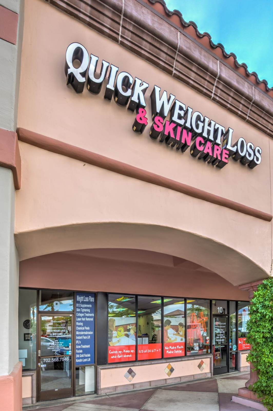 Quick weight loss & skin care building